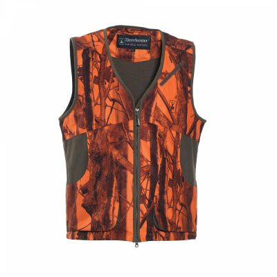 Deerhunter orange vest for