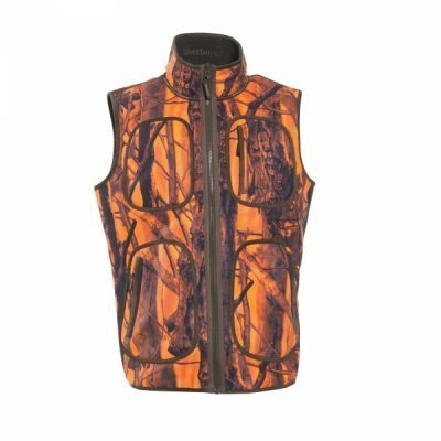 Gamekeeper fleece vest vendbar